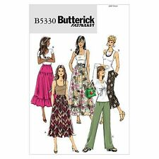 Butterick Patterns B5330 Misses' Skirt and Pants, Size F5 (16-18-20-22-24)