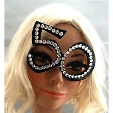 """50"" Glasses 50th Birthday Novelty Eye Glasses Gag FiftyFun Photo Booth One pair"