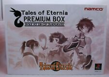PS1 Tales Of Eternia Luxe Boite W/Horloge & Figures Japon Import PLAYSTATION Toe