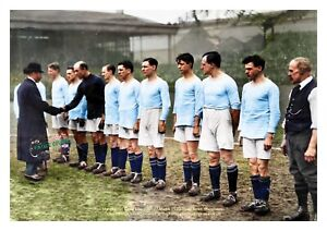 Beautiful Football Print: Manchester City at Hyde Road 1920