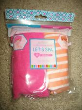 NEW Microfiber Hair Turban Towel and Reversible Satin-Lined Shower Cap Set