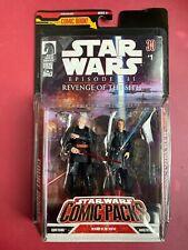 Star Wars Comic Pack COUNT DOOKU & ANAKIN SKYWALKER Revenge of the Sith Figures