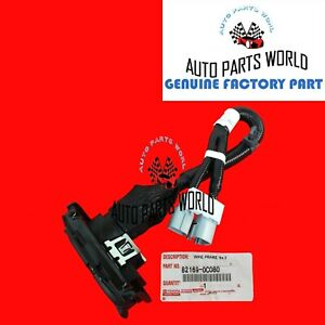 NEW GENUINE OEM TOYOTA 07-13 TUNDRA 7 PIN 4 PIN TOWING WIRE HARNESS 82169-0C080