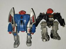 Vintage 1985 Tomy Tribot Bat-L and C-bee Triple Transforming Figure lot