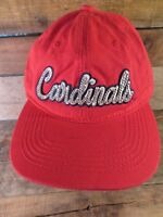 St Louis CARDINALS Baseball Jeweled MLB Adjustable Adult Cap Hat