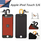 Black For iPod Touch 5 5th Gen A1574 LCD Touch Digitizer Screen Full Replacement