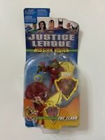 2003 Justice League Mission Vision - THE FLASH Action Figure + Accessory - New
