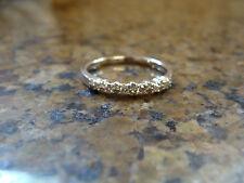 1/3 ct Diamond Wedding Anniversary Band 10K White Gold