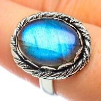 Labradorite 925 Sterling Silver Ring Size 8 Ana Co Jewelry R49494F