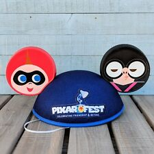 Edna Mode Jack Parr Mickey Ears Cap Hat 2018 Disney Parks Pixar Fest Incredibles