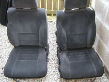 Toyota mr2 mk1 seats black and charcoal