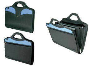 Sovereign Attache Heavy Duty Zippered Case With Multi Compartment Dividers