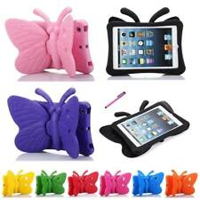 Butterfly Kids Shockproof Tablet Stand Rubber EVA Foam Cover Case For Apple iPad