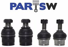 4 Ball Joints Front Upper & Lower Suspension Parts Brand New