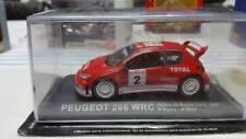PEUGEOT 206-WRC-RALLY-DE-MONTE-CARLO-2003-R-BURNS-R-REID-COLLECTABLE-MODEL-CAR