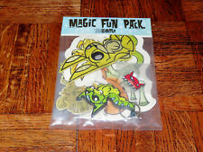 2008 JOE LEDBETTER MAGIC FUN PACK MR BUNNY PATCH FIRECAT PIN UNICORN MAGNET BNIP