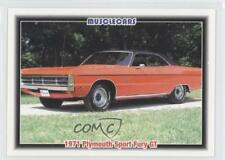 1992 Collect-A-Card Musclecars #73 1971 Plymouth Sport Fury Gt Card 3a3
