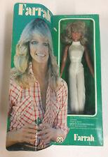 VINTAGE CHARLIE'S ANGELS FARRAH FAWCETT POSEABLE FASHION DOLL MIB MEGO 1977