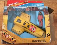 Vintage Fisher-Price Land Speed Racer-NEW in Original Bilingual French / Eng Box