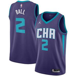 New 2021 Charlotte Hornets Lamelo Ball Jordan Brand Statement Swingman Jersey
