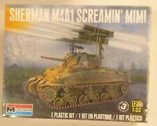 Monogram 1/32 Sherman M4A1 Screaming Mimi W/ Calliope Rocket Launcher Tank Kit