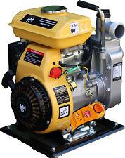 Benzin Motorpumpe HMG-BWP-15 Gartenpumpe Teichpumpe Bootspumpe Kreiselpumpe