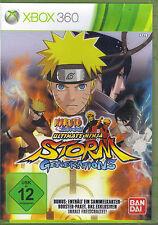 Naruto Shippuden: Ultimate Ninja Storm Generations (X-Box360) o. Karten