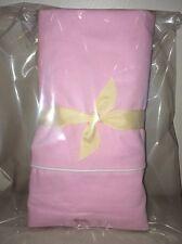 "NEW (w/ Stain) Pottery Barn Pink TWILL Window Valance 44 x 18"""