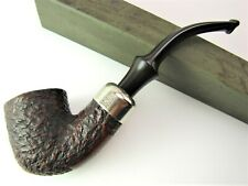 K&P Peterson 301 System Standard Rusticated Estate Tobacco Pipe