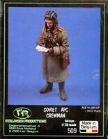 Verlinden Productions 1:35 54mm Soviet APC Crewman Resin Figure Kit #509