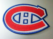 """Montreal Canadiens Iron On Patch 3 1/2"""" x 2 1/4"""" Free Shipping by Envelope Mail"""