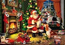 Wentworth Wooden Christmas Puzzle Mini Who's Next on the List 40 Piece Jigsaw