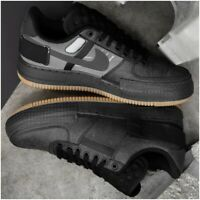 Nike Air Force 1 Type-2 Mens Trainers Black Brown Size 8.5 UK / EU 43 / US 9.5
