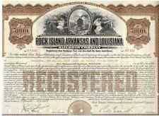 Rock Island  Arkansas and Louisiana Railroad Company   1933   5000$