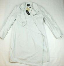 BNWT Ladies Akris Silver Grey MABEL Coat Mac Size 16 RRP $3990.00