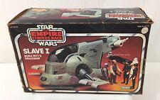 Vintage Star Wars Kenner 1980 Boba Fett's Slave 1 EMPTY Box  BOX ONLY EMPTY