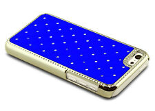 Luxurious Sparkly Studded Bling Diamond Hybrid Hard Case Cover For iPhone 5c