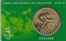 Coincard Australia Sydney 2000 Olympic 5 dollars - Cycling (25)