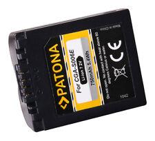 PATONA Akku für Panasonic Lumix DMC-FZ28, -FZ30, -FZ38, -FZ50 - CGR-S006-E ACCU