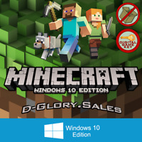 Minecraft: Windows 10 Edition (DIGITAL KEY / PC / FULL GAME / Region FREE)
