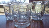 Lancer Whiskey Glasses on the Rocks Old fashioned tumblers 4 11 oz flat bottom