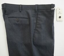 NWT ZANELLA *BILL/B* Gray 100% WOOL Blend Dress Pants IT-50 US-34