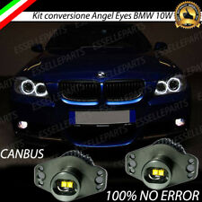 KIT ANGEL EYES A LED CREE CANBUS 6000K PER BMW SERIE 3 E90 20W BIANCO GHIACCIO