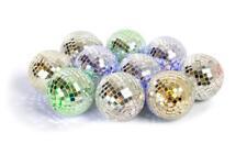 Fizz del multicolore boule disco Guirlande Lumineuse Argent anniversaire Noël