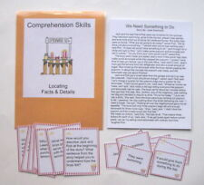 Teacher Made Reading Resource Kit Comprehension Center Recalling Facts & Details