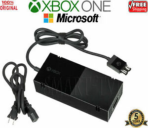 New OFFICIAL Microsoft XBOX ONE Power Supply (Original OEM Adapter) + USA Cable