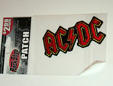 The Ac/Dc Concert Rock Tour Band Music Cloth Patch New Nos Mib 2005