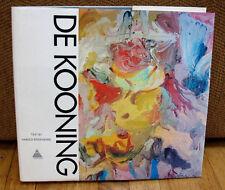Willem de Kooning Monograph Harold Rosenberg 1st Print 1974 ED HC DJ