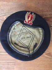 NETHERLANDS MILITARY ARMY BERET AND BADGE - ORIGINAL!