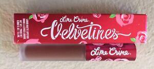Lime Crime Velvetines Salem Liquid Lipstick New In Box